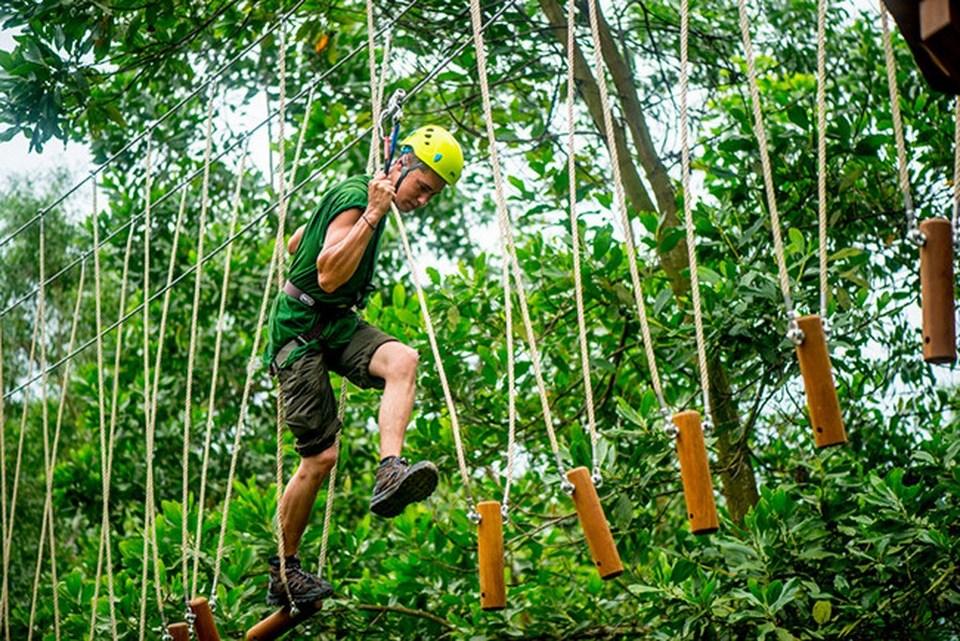 Alba Thanh Tan Hot Springs Resort - zipline-Hue4 zipline vietnam zipline in vietnam zipline đà lạt zipline quảng bình