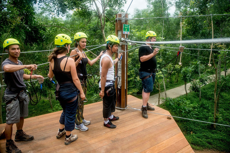 Alba Thanh Tan Hot Springs Resort - zipline-Hue5