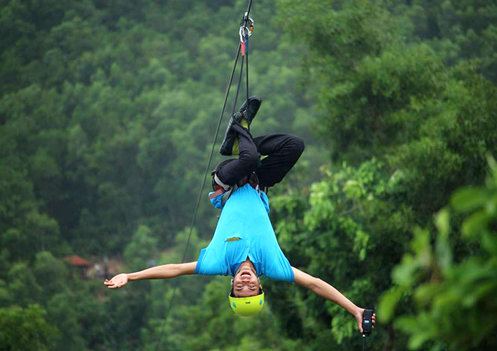 Alba Thanh Tan Hot Springs Resort - zipline-Hue6