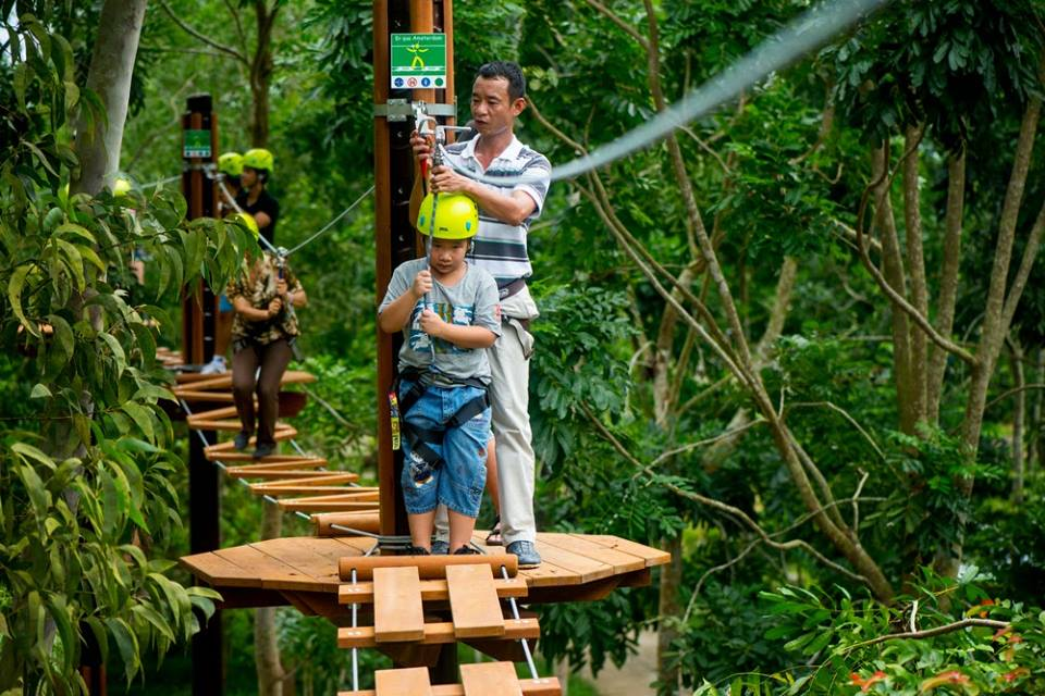 Alba Thanh Tan Hot Springs Resort - zipline-Hue7