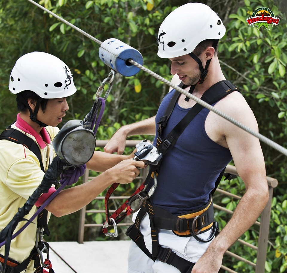 zip lineMadagui Forest – Lam Dong3