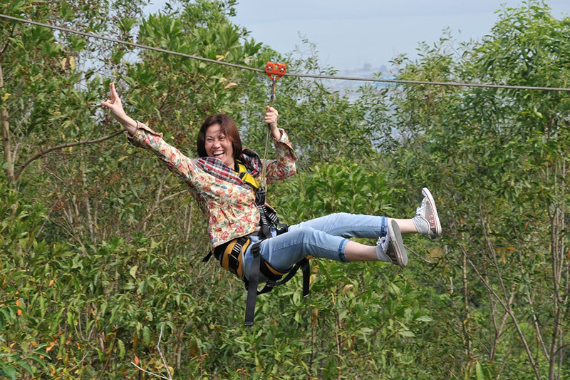 zipline-Ho May Resort-vung tau3 zipline vietnam zipline in vietnam zipline đà lạt zipline quảng bình
