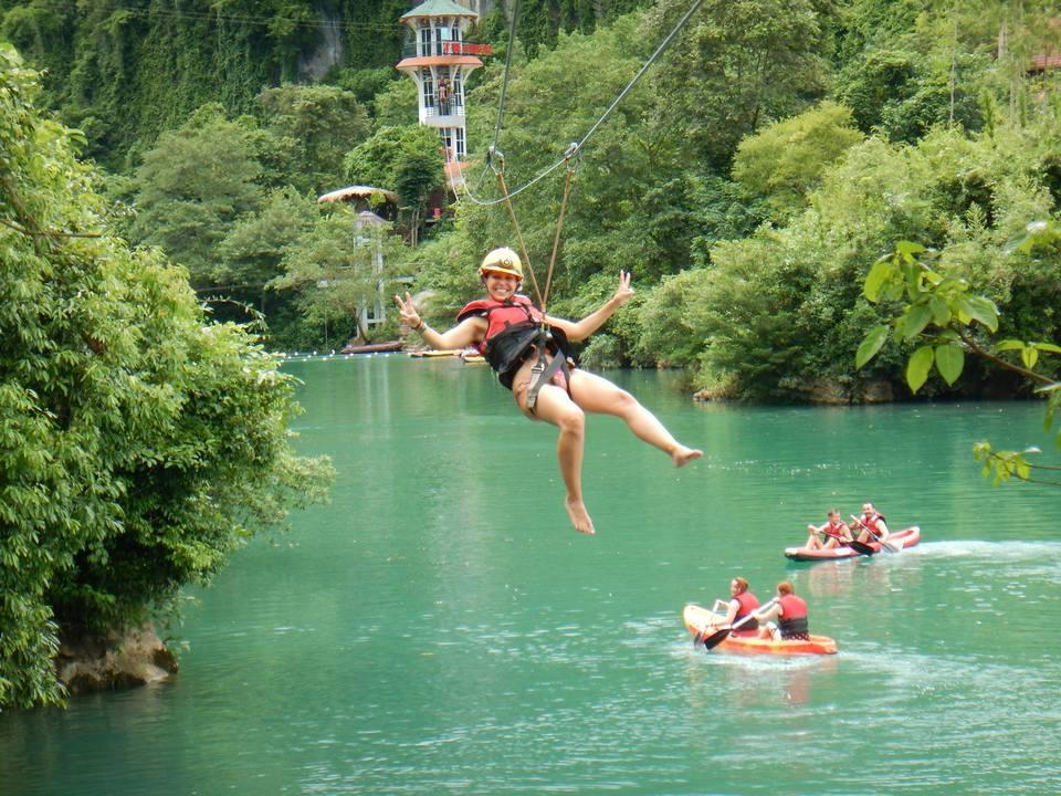 zipline-Phong nha ke bang-quang binh9 zipline vietnam zipline in vietnam zipline đà lạt zipline quảng bình