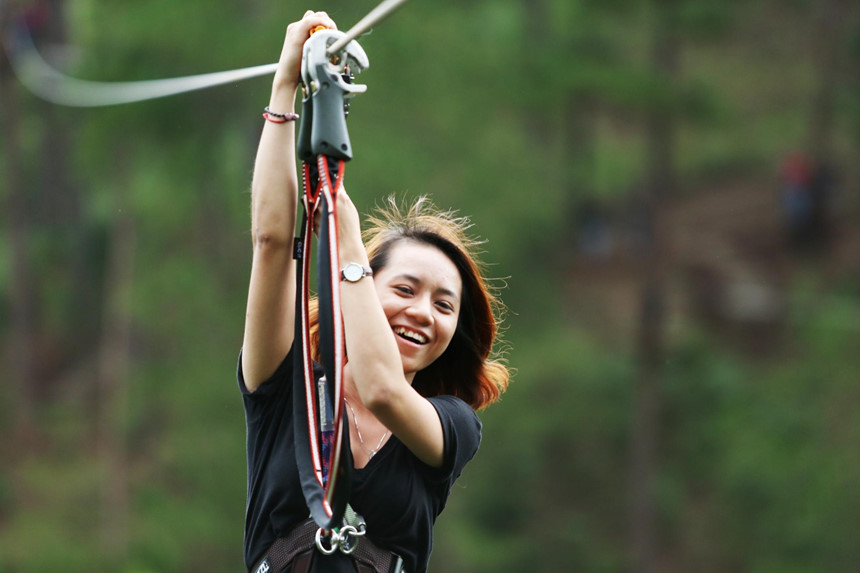 Datanla High Rope Course-dalat10