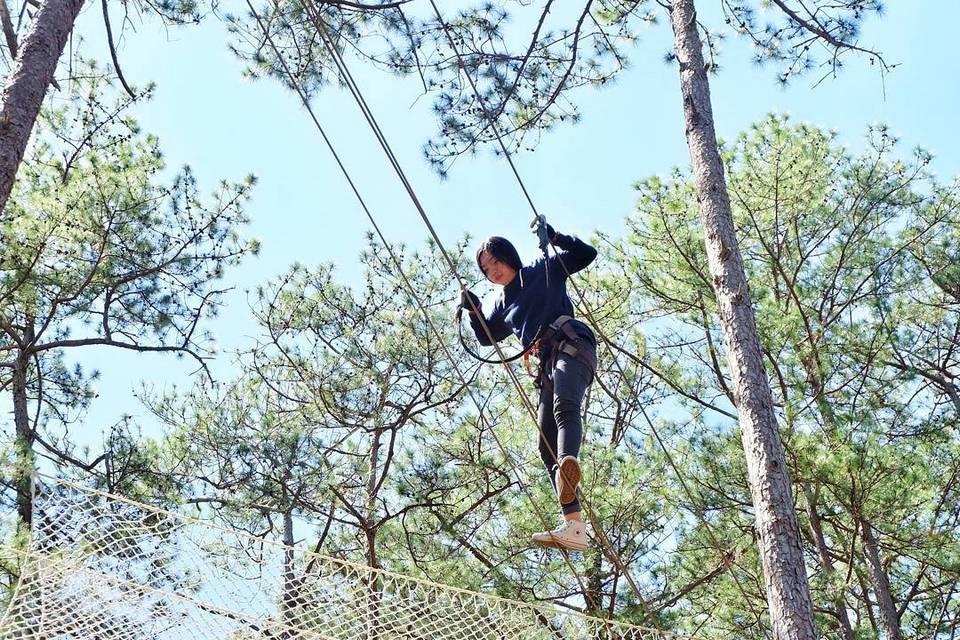 Datanla High Rope Course-dalat11 zipline datanla
