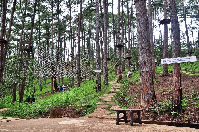 Datanla High Rope Course-dalat3