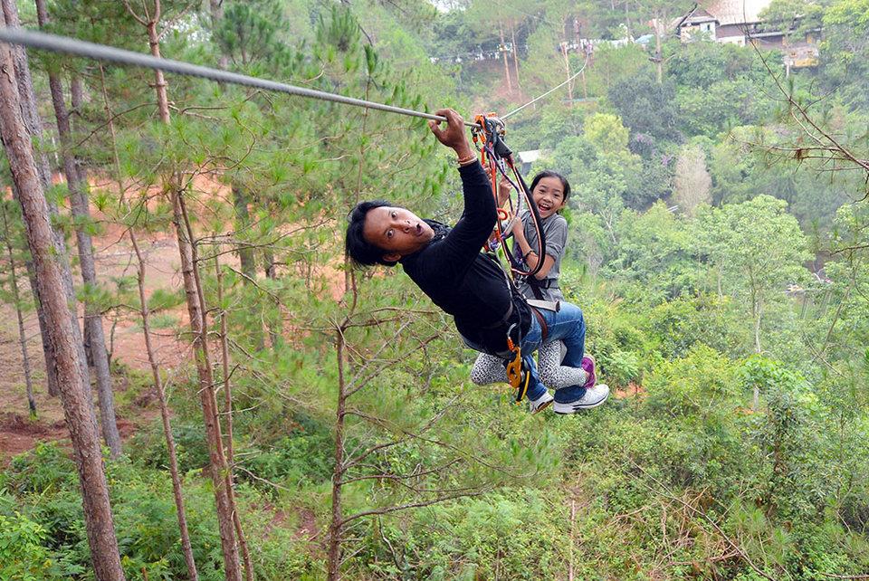 Datanla High Rope Course-dalat4