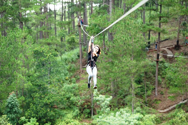 Datanla High Rope Course-dalat7