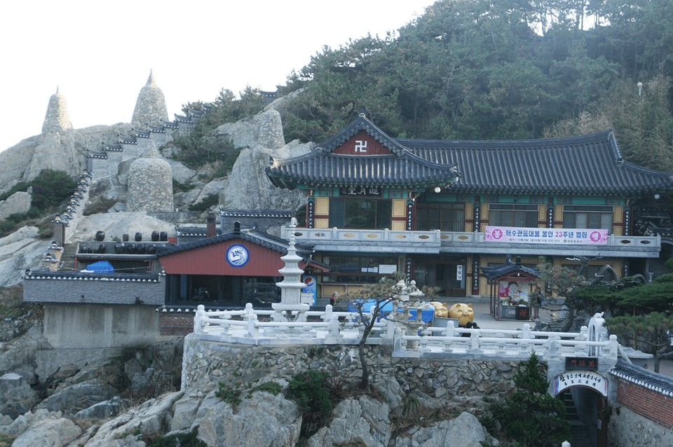 Haedong Yonggungsa Busan Korea
