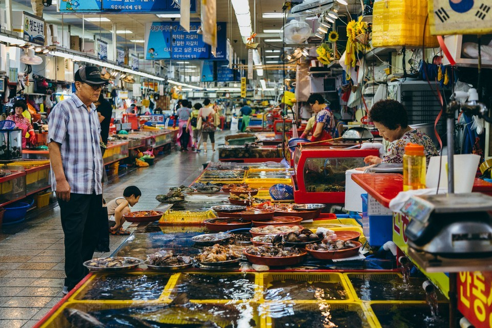 Greysuitcase Busan Series - Jagalchi Market
