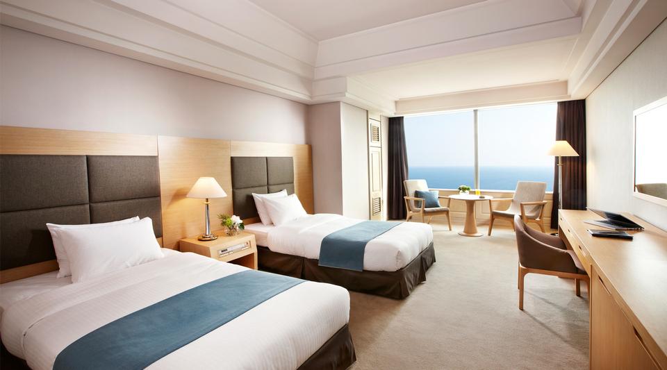 Hotel at Haeundae beach
