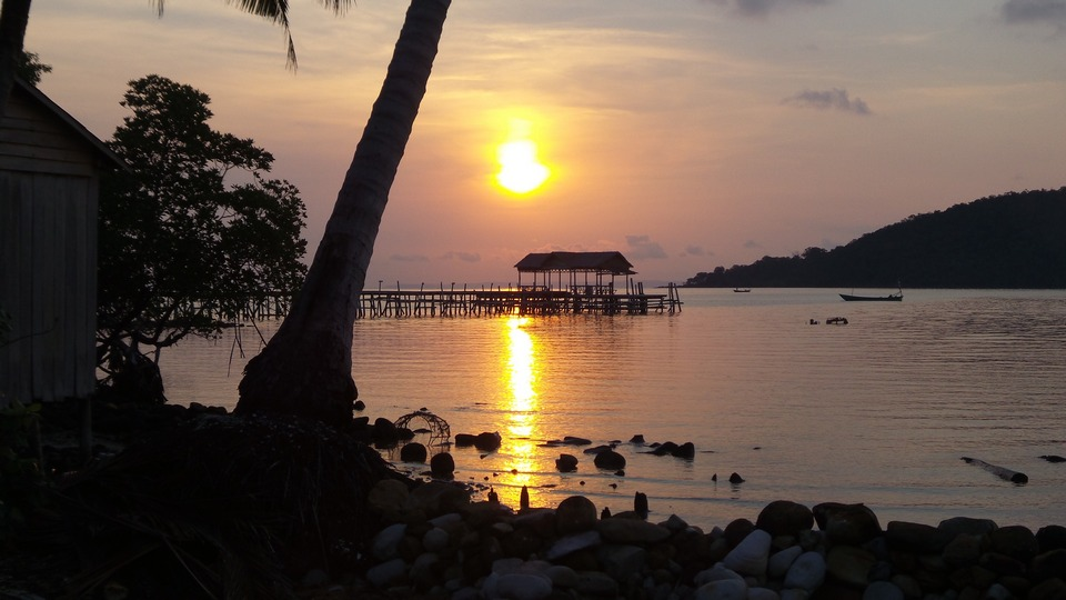 sunset in mpai bay 23