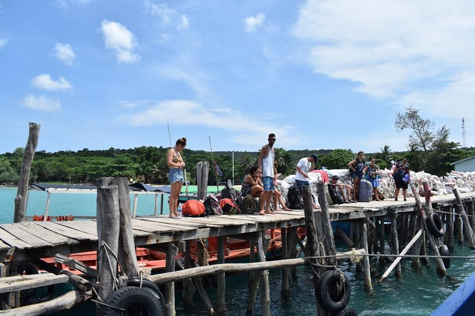 M'Pai Bay pier 2