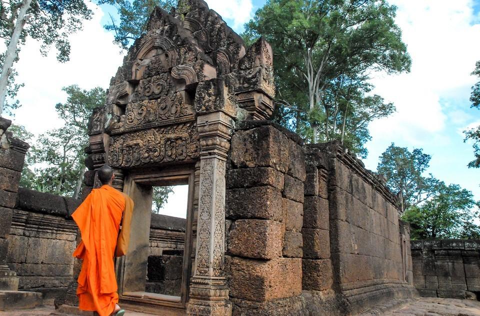 Banteay-Srei-Temple, Siem-Reap, Cambodia