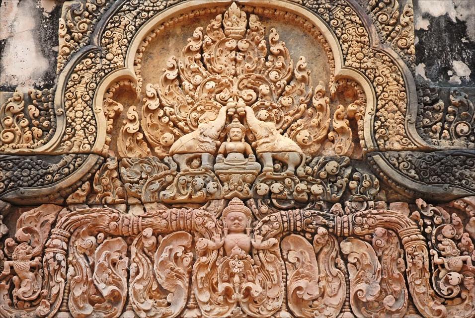Lakshmi (Banteay Srei, Angkor) - Banteay Srei