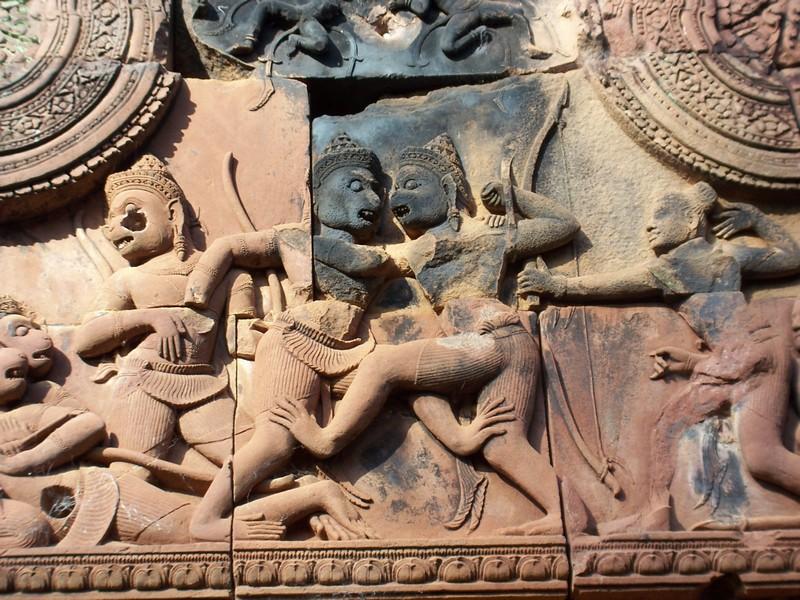 Banteay Srei Temple, Siem Reap with carvings banteay srei temple banteay srei siem reap banteay srei temple siem reap