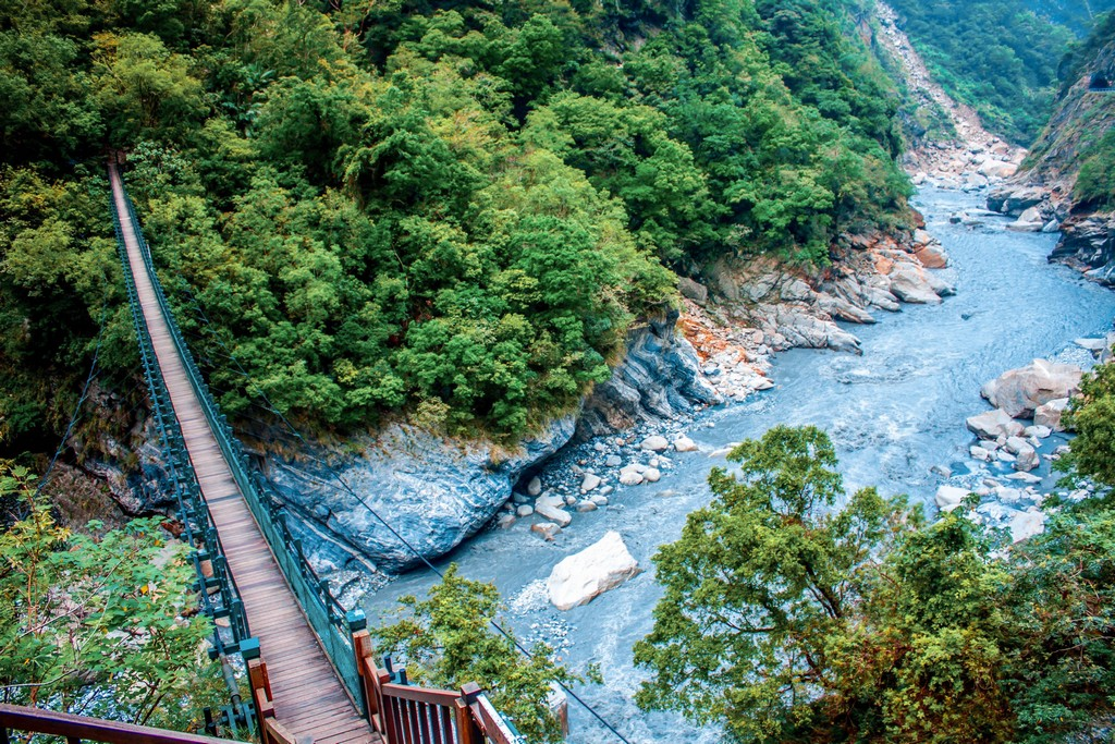 Taroko Gorge National Park travel to China