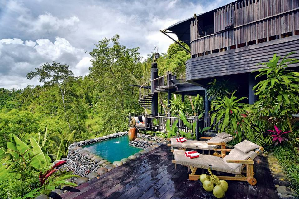 Ubud-places to stay when coming to bali