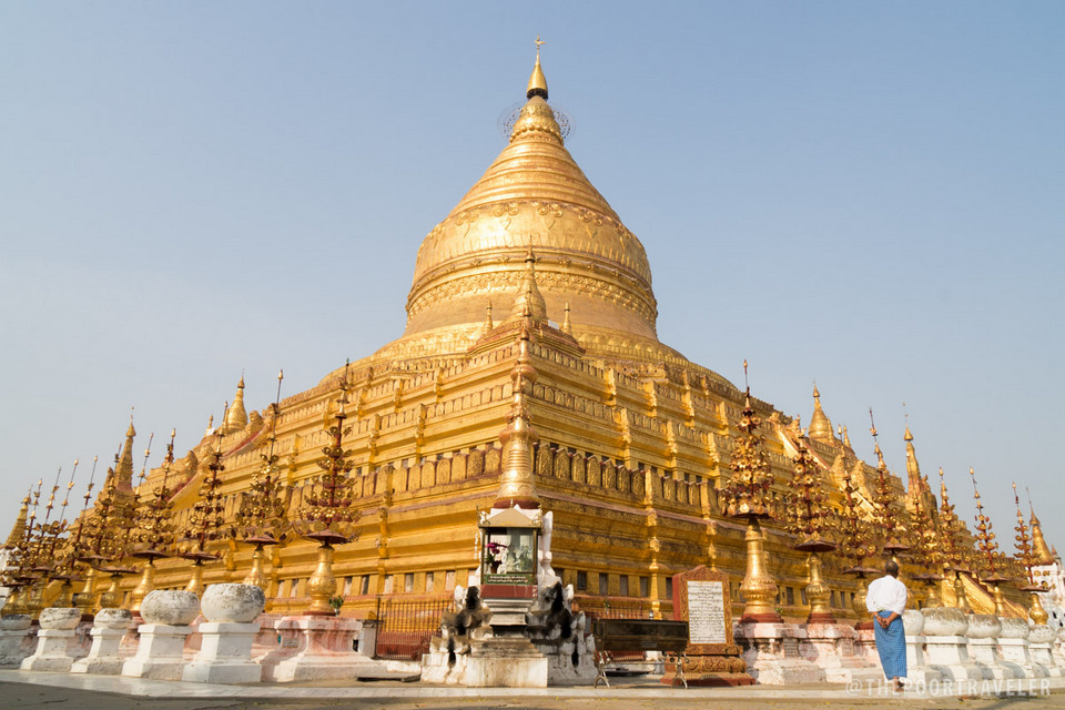 Shwezigon pagoda is considered a prototype of all future such temples in Myanmar.[/