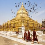 Explore Shwezigon Paya — The first gold-plated & most sacred pagoda in Bagan, Myanmar
