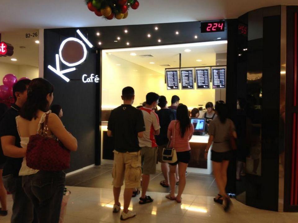 KOI Café Singapore