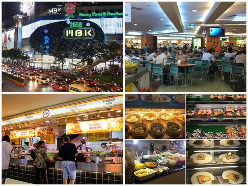MBK FOOD ISLAND-best food courts-ban Best food court Bangkok