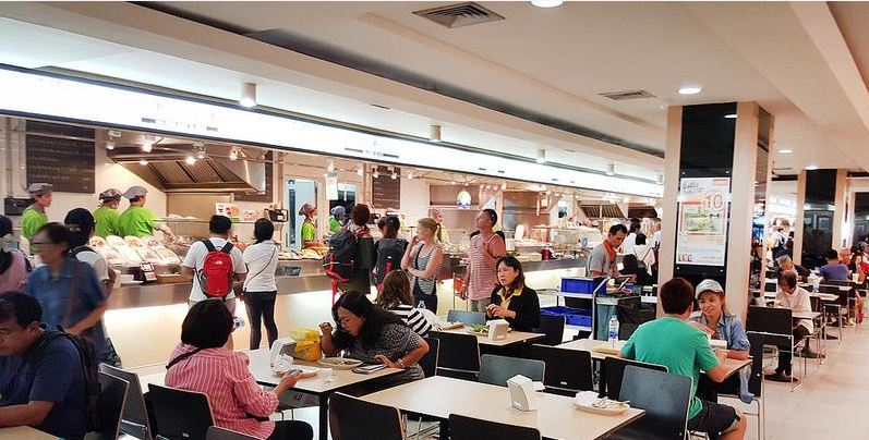 MBK FOOD ISLAND-best food courts-bangkok-thailand7 Best food court Bangkok