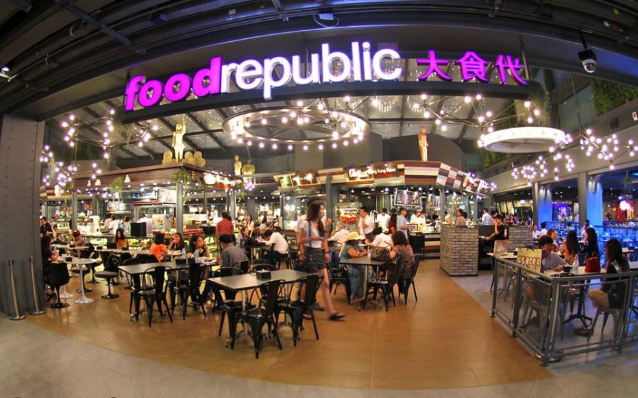 food republic-best food courts-bangkok-thailand1 Gourmet Paradise food court