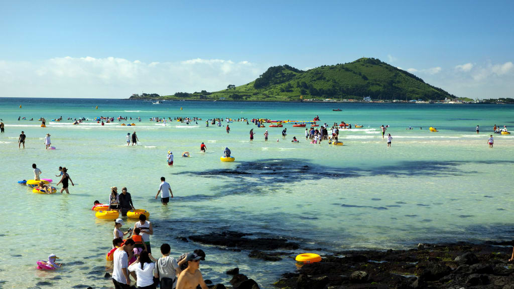 Jeju Island, known as the Hawaii of South Korea, is a popular holiday destination