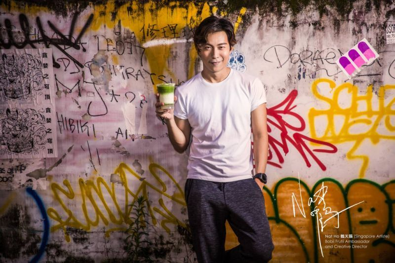 Nat Ho is Bobii Frutii Singapore's creative director and brand ambassador