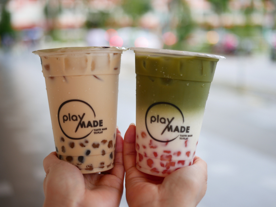Playmade by 丸作 aims to bring back the bubble tea craze in Singapore
