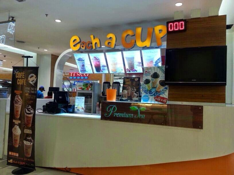 The Each -A-Cup Bubble Tea brand has its origins in Singapore