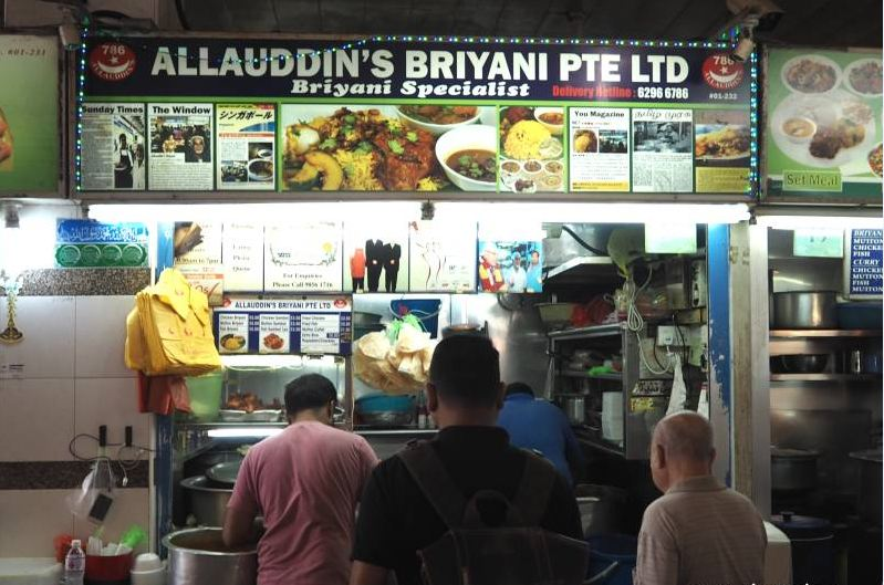 Allaudin's Briyani- Indian Restaurant in Singapore3