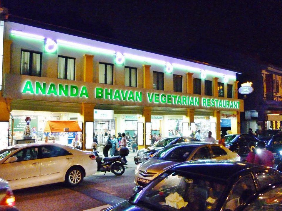 Ananda Bhavan Restaurant- Indian Restaurant in Singapore1