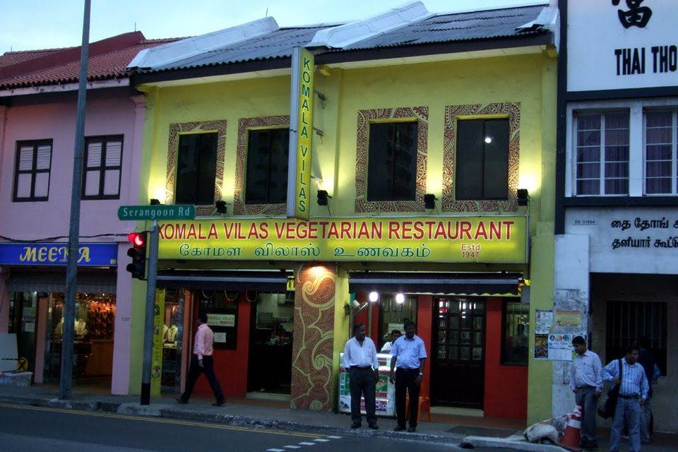 veg restaurants in little india singapore Komala Vilas- Indian Restaurant in Singapore2