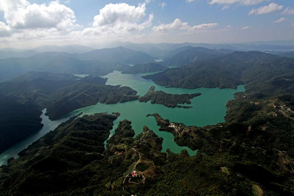 Shiding Thousand Island Lake-Taipei City Credit image: shiding thousand island lake blog.