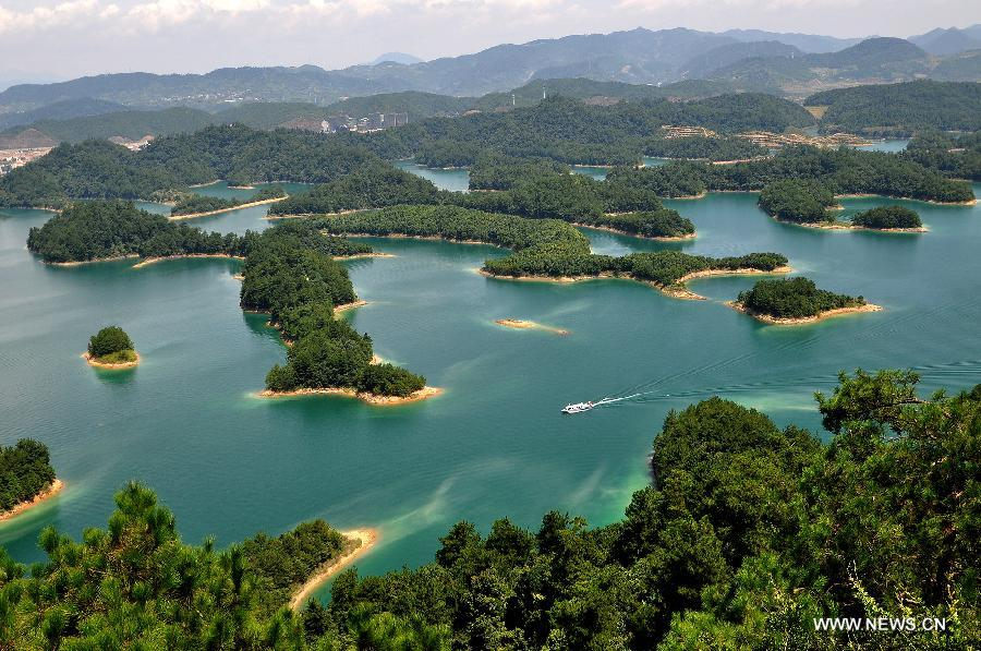 Thousand Island Lake Taiwan 3