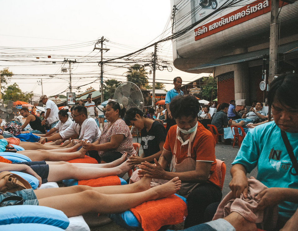 Street+massage,+Bangkok