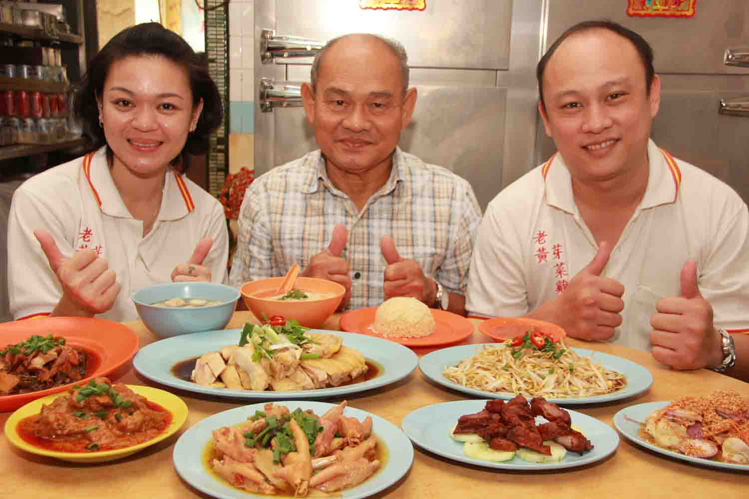 """Beansprout Chicken"" is one of the iconic traditional authentic eatery since more than half decade in Ipoh, Perak."