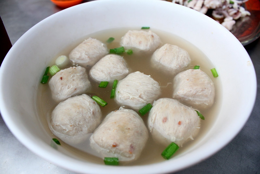 Meatballs Soup 猪肉丸