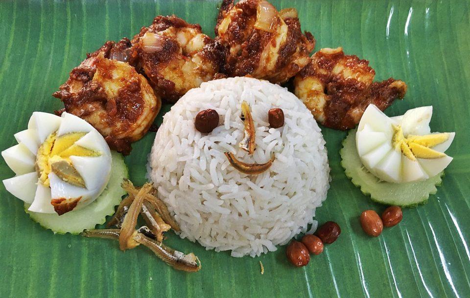 The traditional nasi lemak -kuala lumpur1 Foto: kuala lumpur travel blog.