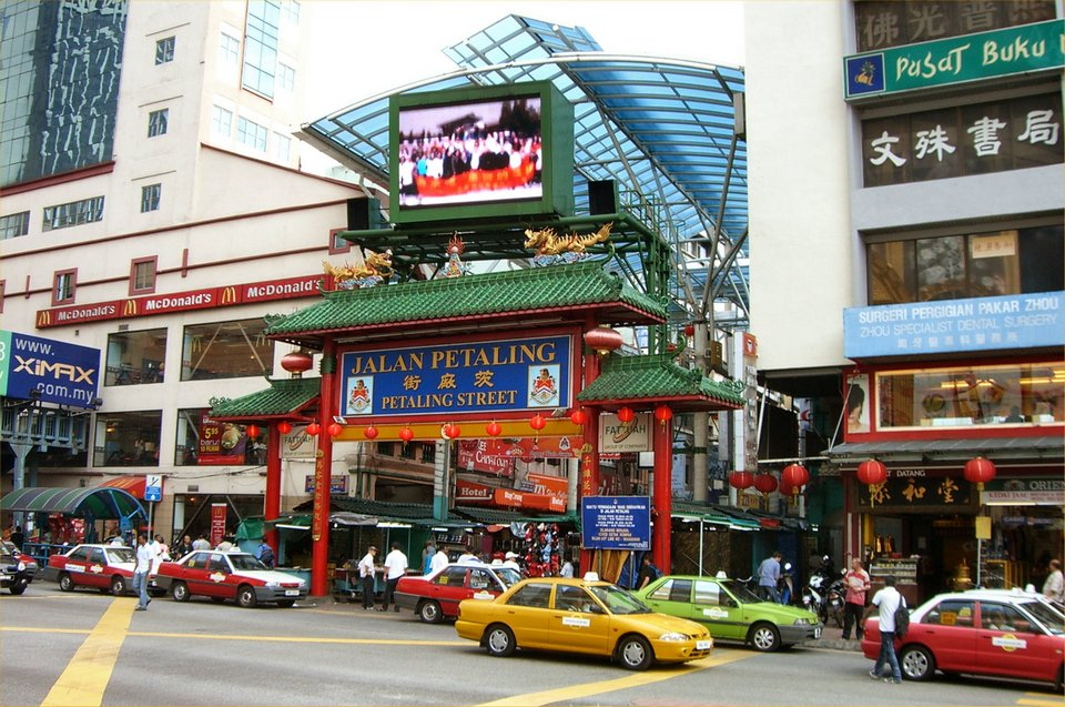 Petaling Street markets in Kuala Lumpur