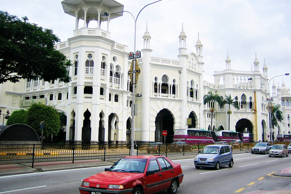 Old Railway Station, Kuala Lumpur - Malaysia kuala lumpur blog kuala lumpur travel blog kl blog