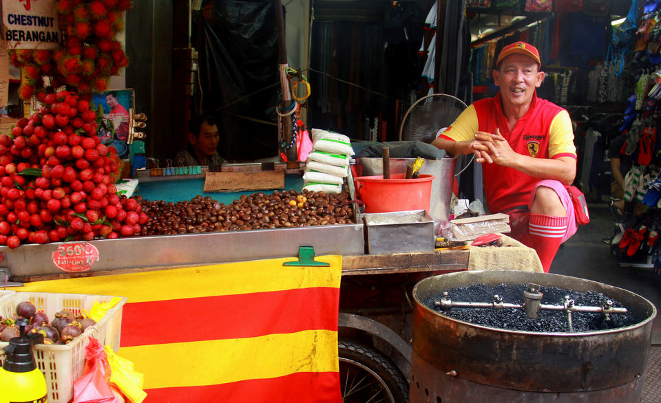 Street food in Kuala Lumpur is reputedly the best in Chinatown