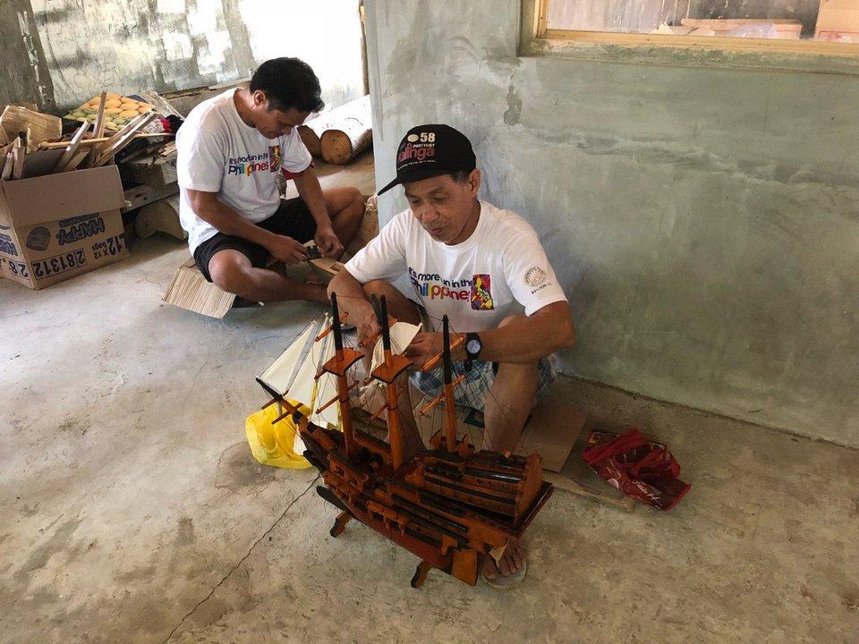Galeon Making -iloilo-philipine1