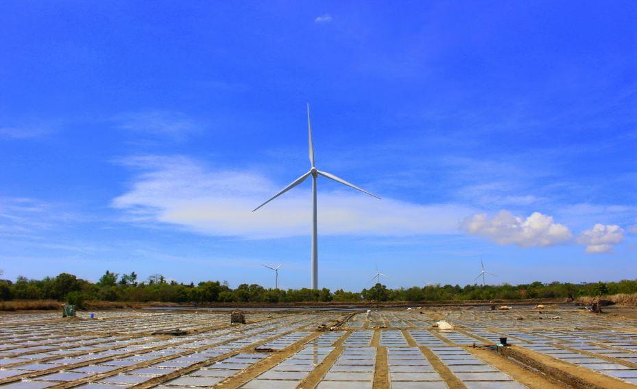 Wind farm-iloilo-philipine