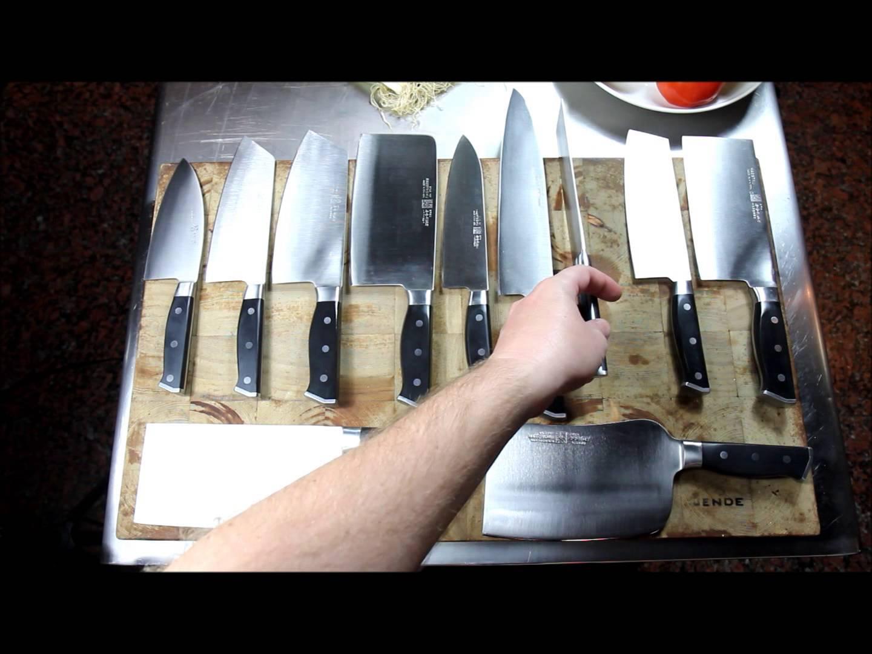 Maestro Wu Bombshell Steel Knives