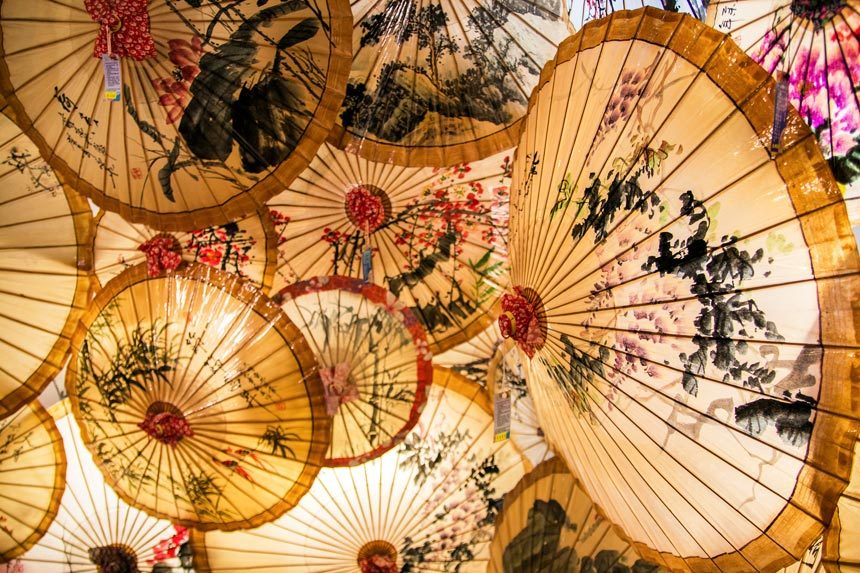 oil-paper-umbrella-taiwan Photo: best things to buy in taiwan blog.