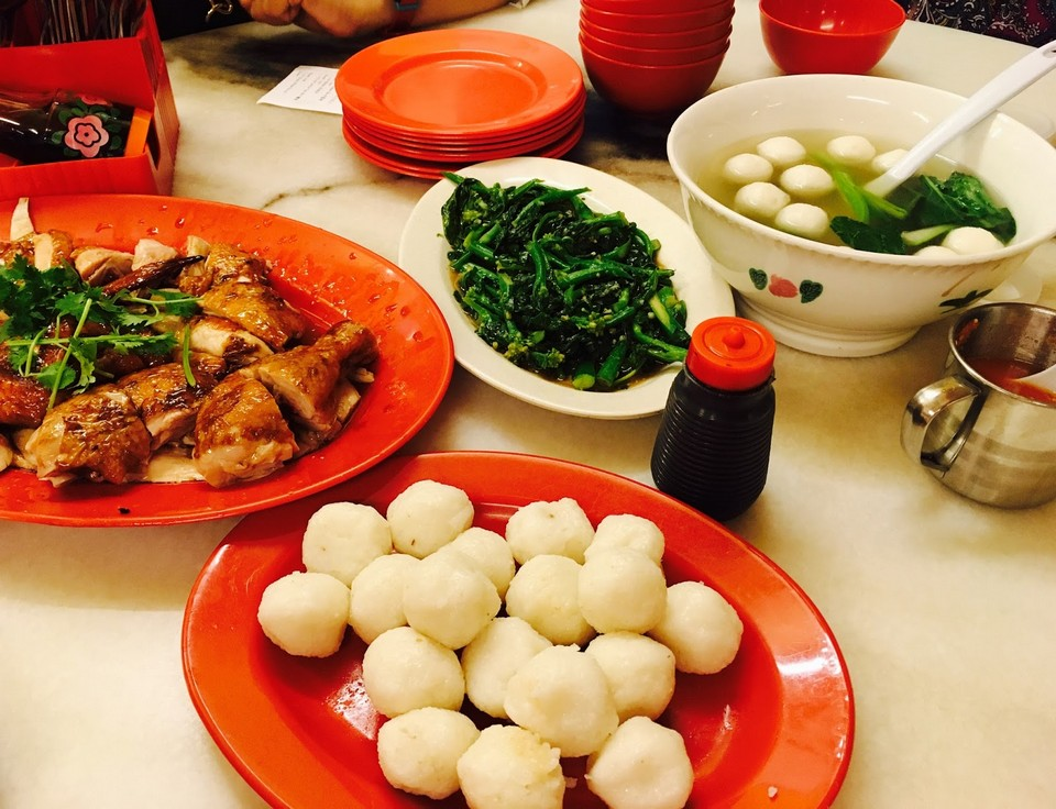 Ee Ji Ban Chicken Rice Ball-melaka-