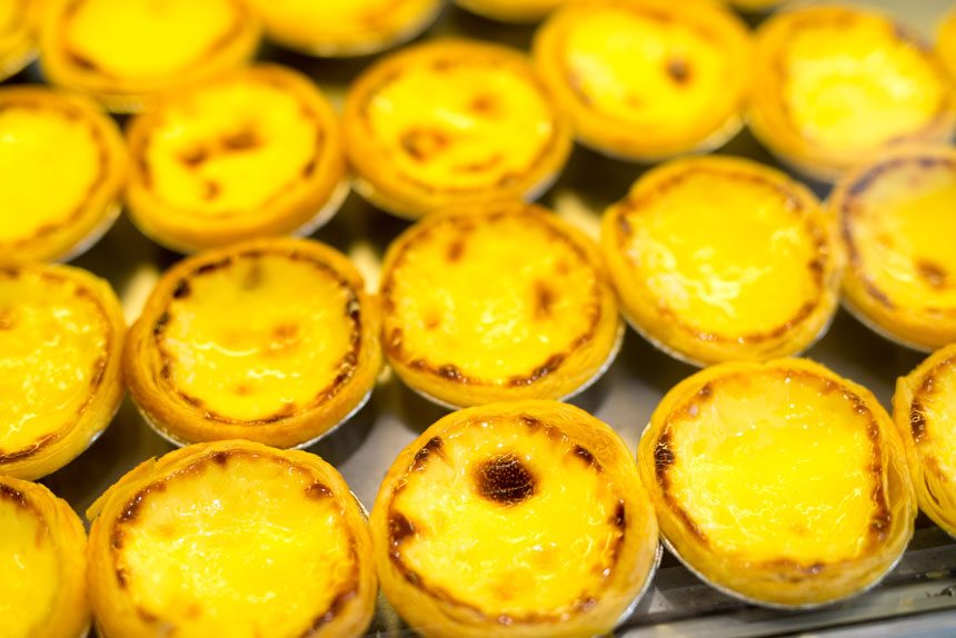 egg tarts hong kong street food blog hong kong must eat street food